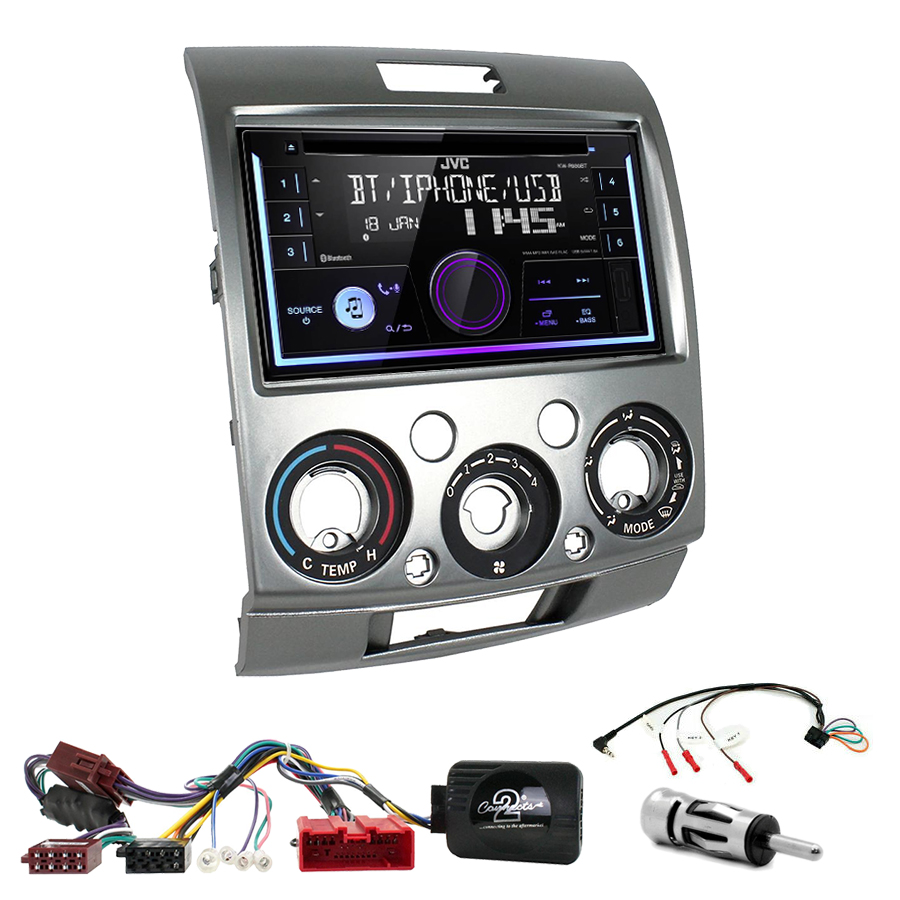 Kit d\'intégration Ford Ranger de 2007 à 2011 + Autoradio multimédia USB/Bluetooth