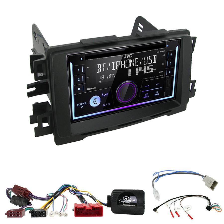 Kit d\'intégration Mazda 6 et CX-5 de 2012 à 2017 + Autoradio multimédia USB/Bluetooth