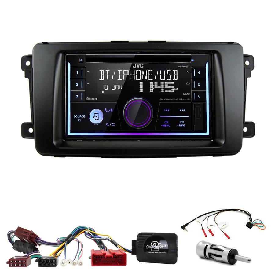 Kit d\'intégration Mazda CX-9 de 2007 à 2015 + Autoradio multimédia USB/Bluetooth