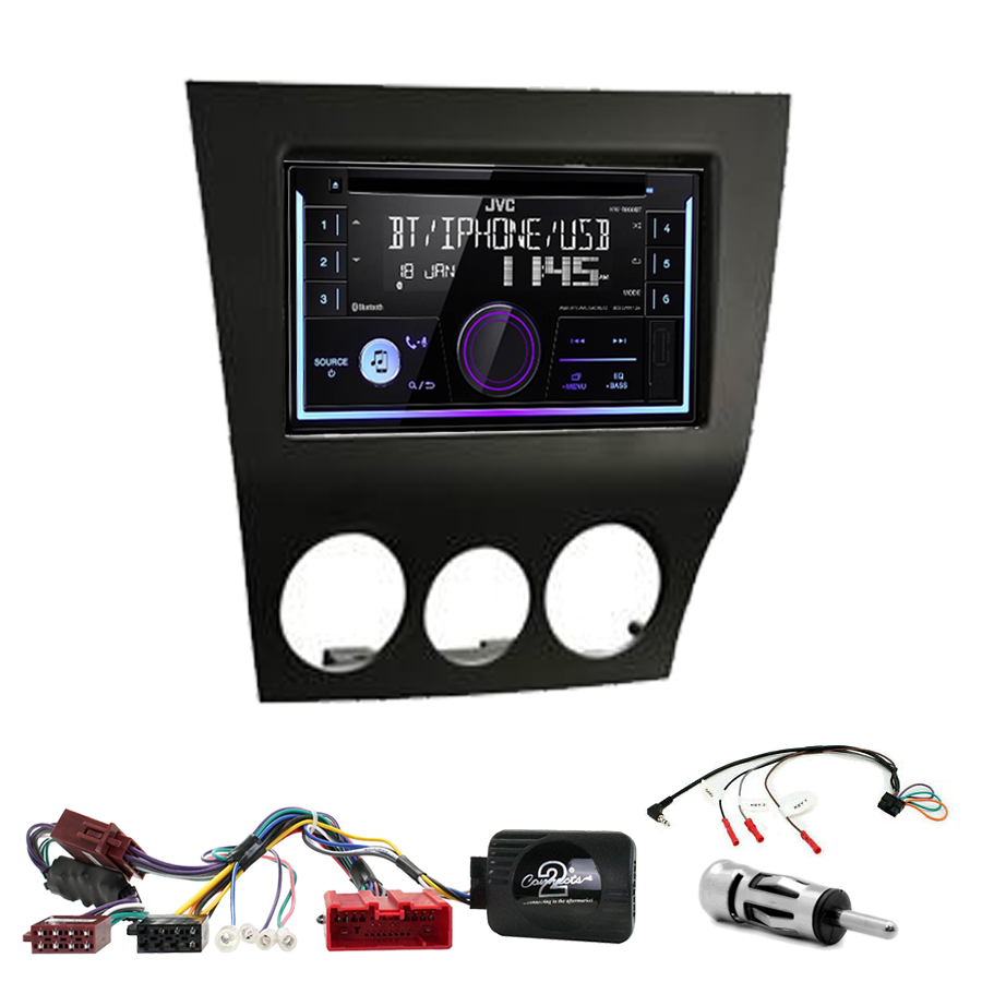 Kit d\'intégration Mazda RX-8 de 2009 à 2011 + Autoradio multimédia USB/Bluetooth