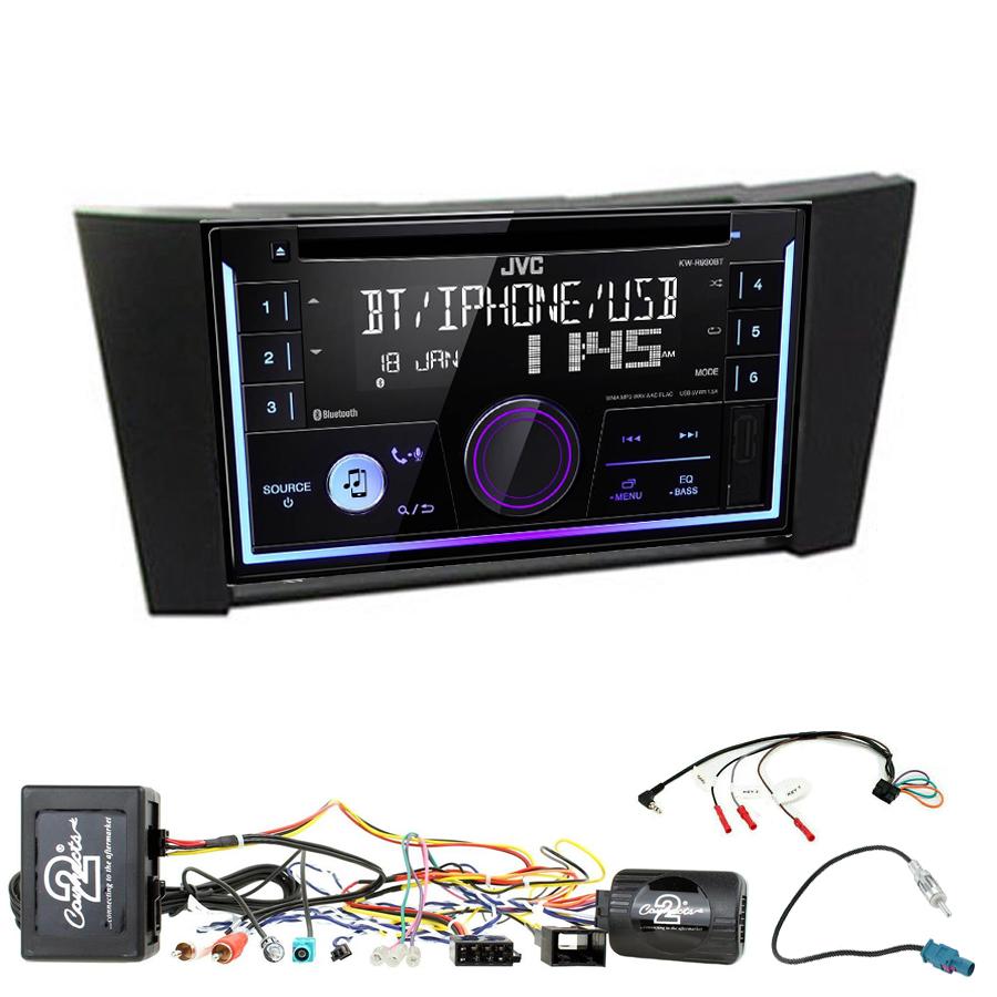 Kit d\'intégration Mercedes Classe E et Mercedes CLS + Autoradio multimédia USB/Bluetooth