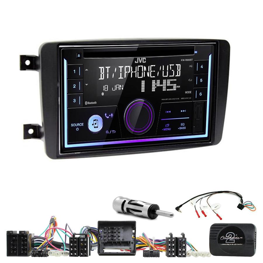 Kit d\'intégration Mercedes CLK, Classe C, Viano et Vito + Autoradio multimédia USB/Bluetooth