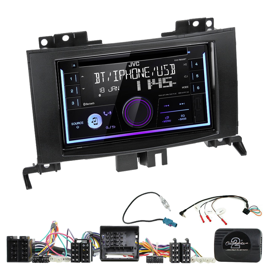 Kit d\'intégration Mercedes Sprinter de 04/2006 à 2014 + Autoradio multimédia USB/Bluetooth