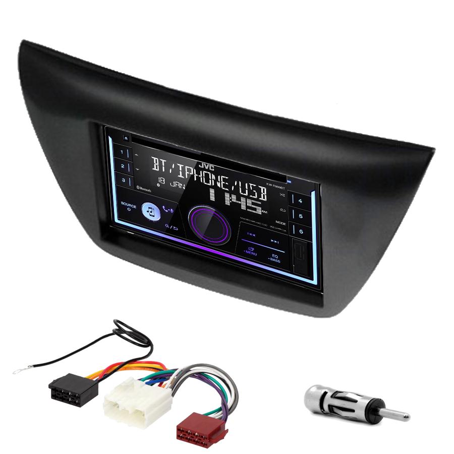 Kit d\'intégration Mitsubishi Lancer de 2004 à 2008 + Autoradio multimédia USB/Bluetooth