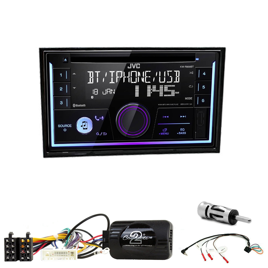Kit d\'intégration Nissan Cube de 2009 à 2020 + Autoradio multimédia USB/Bluetooth