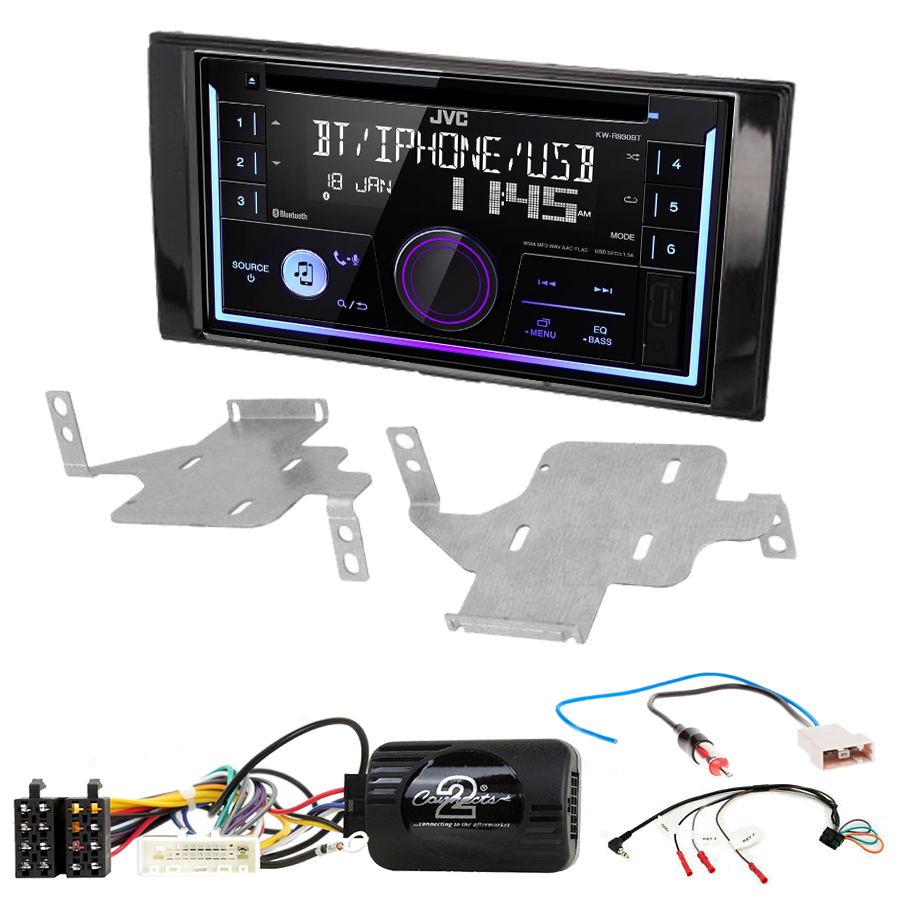 Kit d\'intégration Nissan Juke de 05/2014 à 2019 + Autoradio multimédia USB/Bluetooth