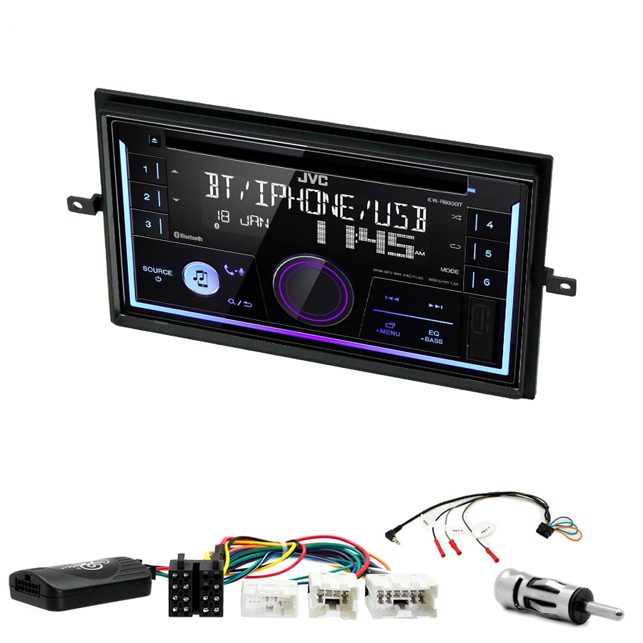 Kit d\'intégration Nissan Navara et Pathfinder de 2005 à 2013 + Autoradio multimédia USB/Bluetooth