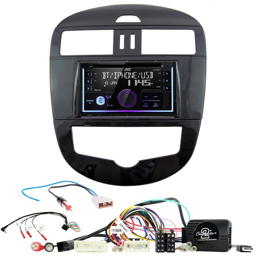 Kit d\'intégration Nissan Pulsar de 2015 à 2018 + Autoradio multimédia USB/Bluetooth