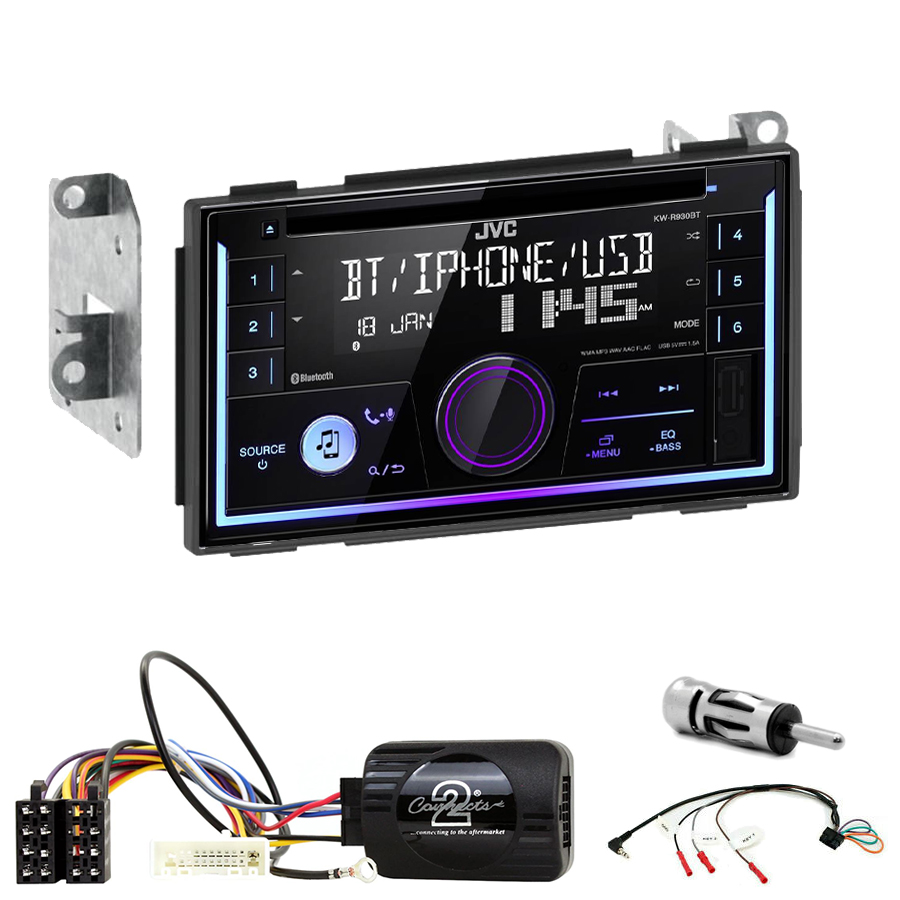 Kit d\'intégration Nissan Qashqai de 2007 à 2013 + Autoradio multimédia USB/Bluetooth