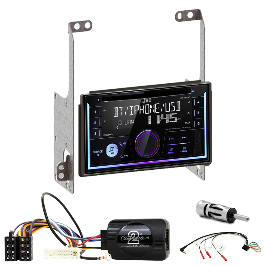 Kit d\'intégration Nissan X-Trail de 2007 à 2013 + Autoradio multimédia USB/Bluetooth