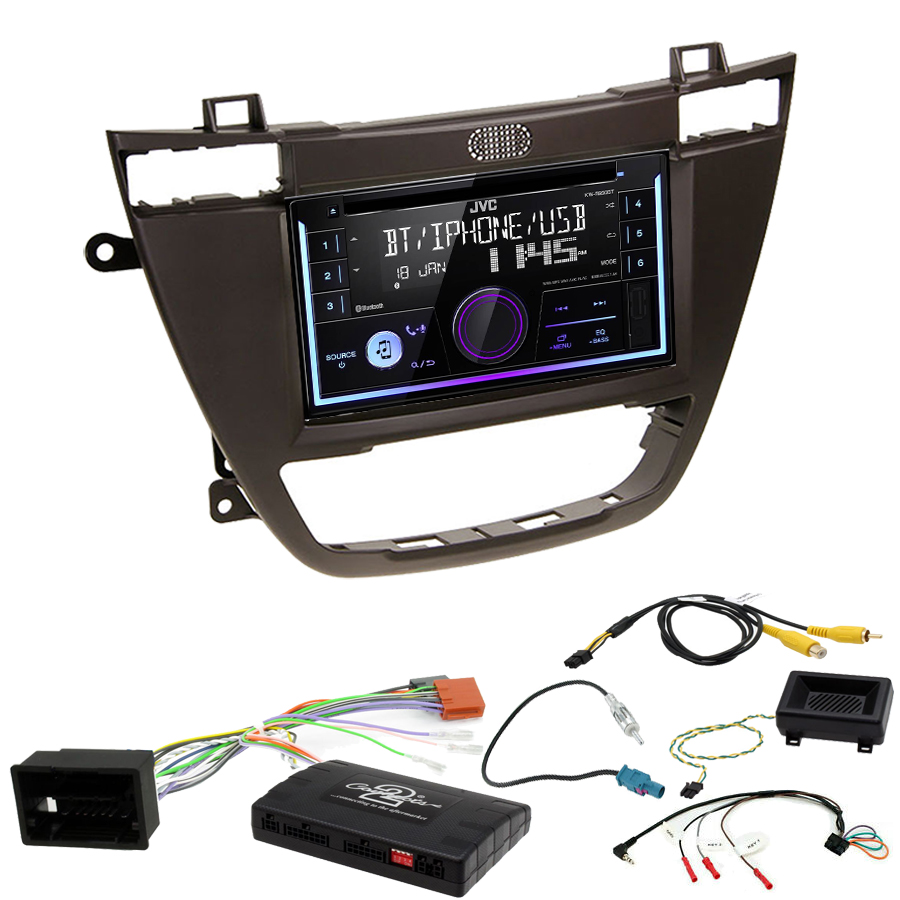 Kit d\'intégration Opel Insignia de 11/2008 à 09/2013 + Autoradio multimédia USB/Bluetooth