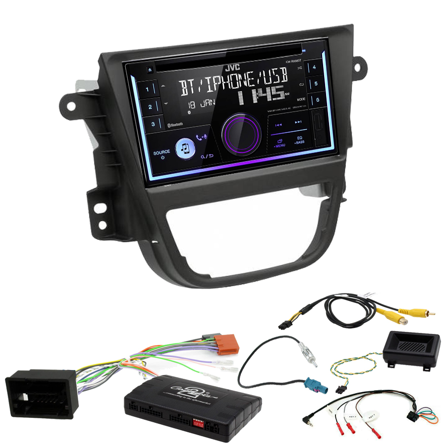 Kit d\'intégration Opel Mokka de 10/2012 à 06/2016 + Autoradio multimédia USB/Bluetooth