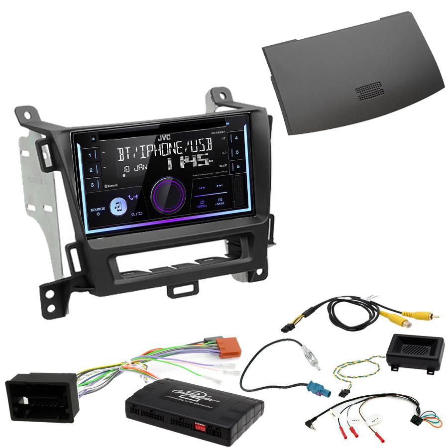 Kit d\'intégration Opel Zafira Tourer de 01/2012 à 2016 + Autoradio multimédia USB/Bluetooth