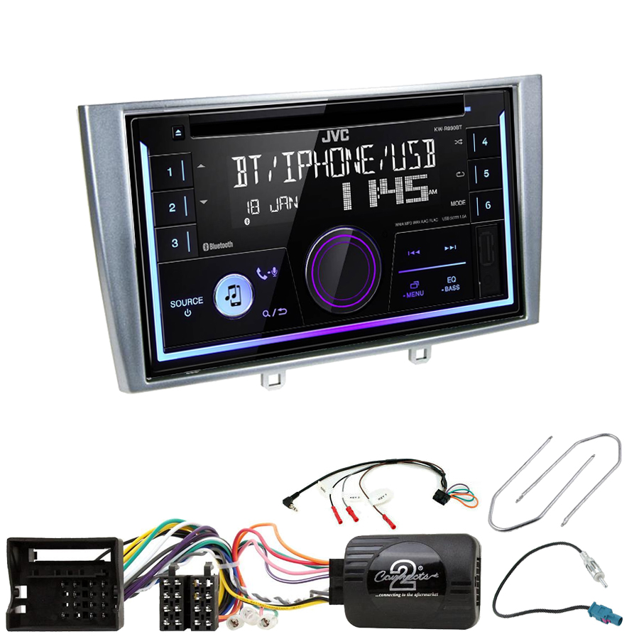 Kit d\'intégration Peugeot 308 et RCZ + Autoradio multimédia USB/Bluetooth