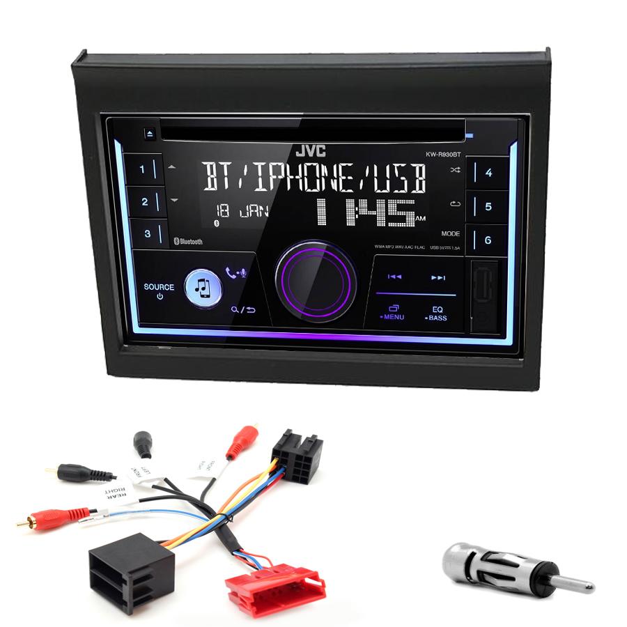 Kit d\'intégration Porsche 911 et Boxster de 1998 à 2004 + Autoradio multimédia USB/Bluetooth