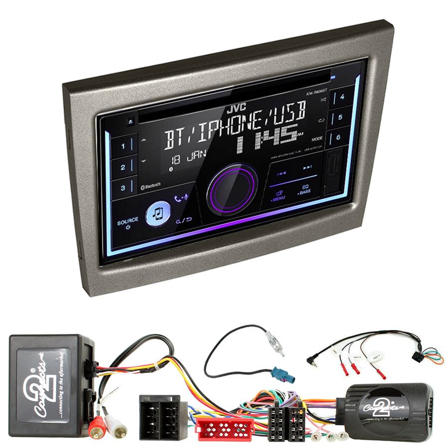 Kit d\'intégration Porsche 911, Cayman et Boxster de 2004 à 2012 + Autoradio multimédia USB/Bluetooth