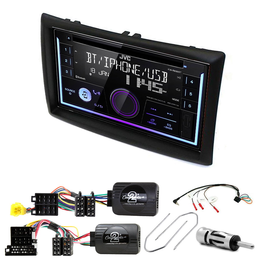 Kit d\'intégration Renault Megane 2 + Autoradio multimédia USB/Bluetooth