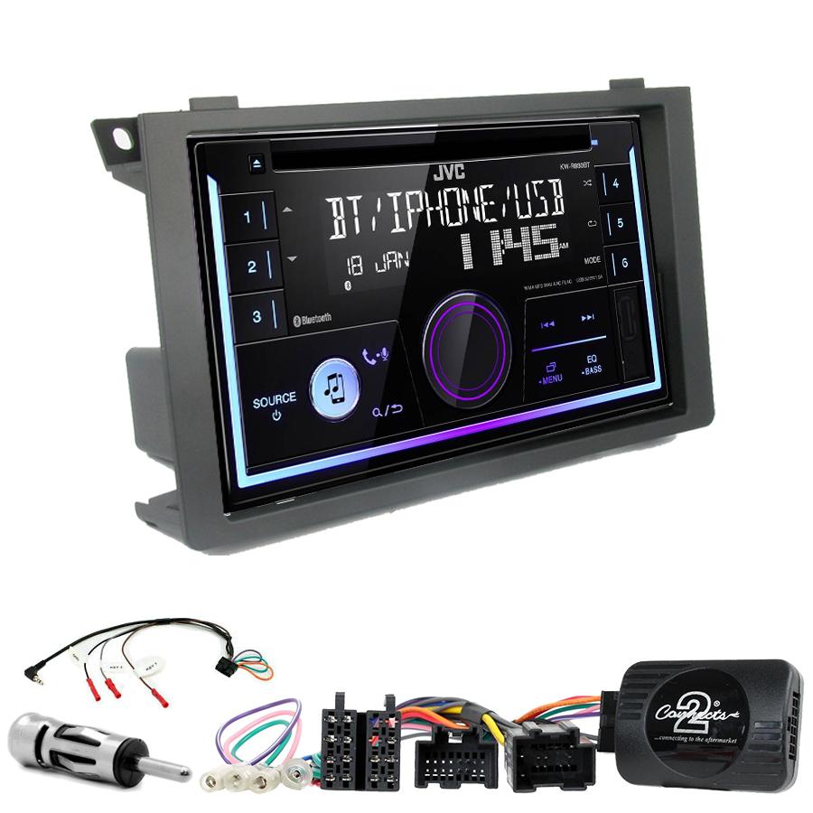 Kit d\'intégration Saab 9-3 de 2006 à 2011 + Autoradio multimédia USB/Bluetooth
