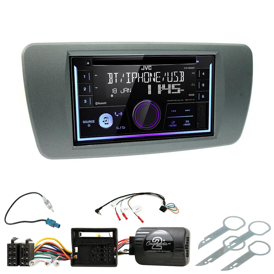 Kit d\'intégration Seat Ibiza de 06/2008 à 2014 + Autoradio multimédia USB/Bluetooth