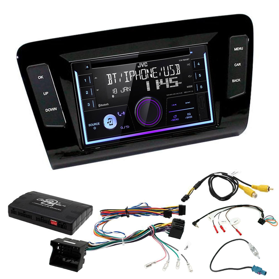 Kit d\'intégration Skoda Octavia de 2013 à 2020 + Autoradio multimédia USB/Bluetooth