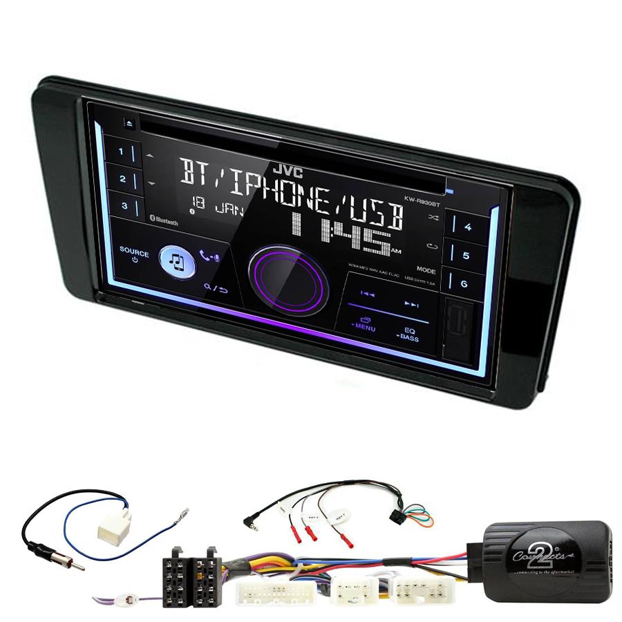 Kit d\'intégration Subaru BRZ depuis 2017 + Autoradio multimédia USB/Bluetooth