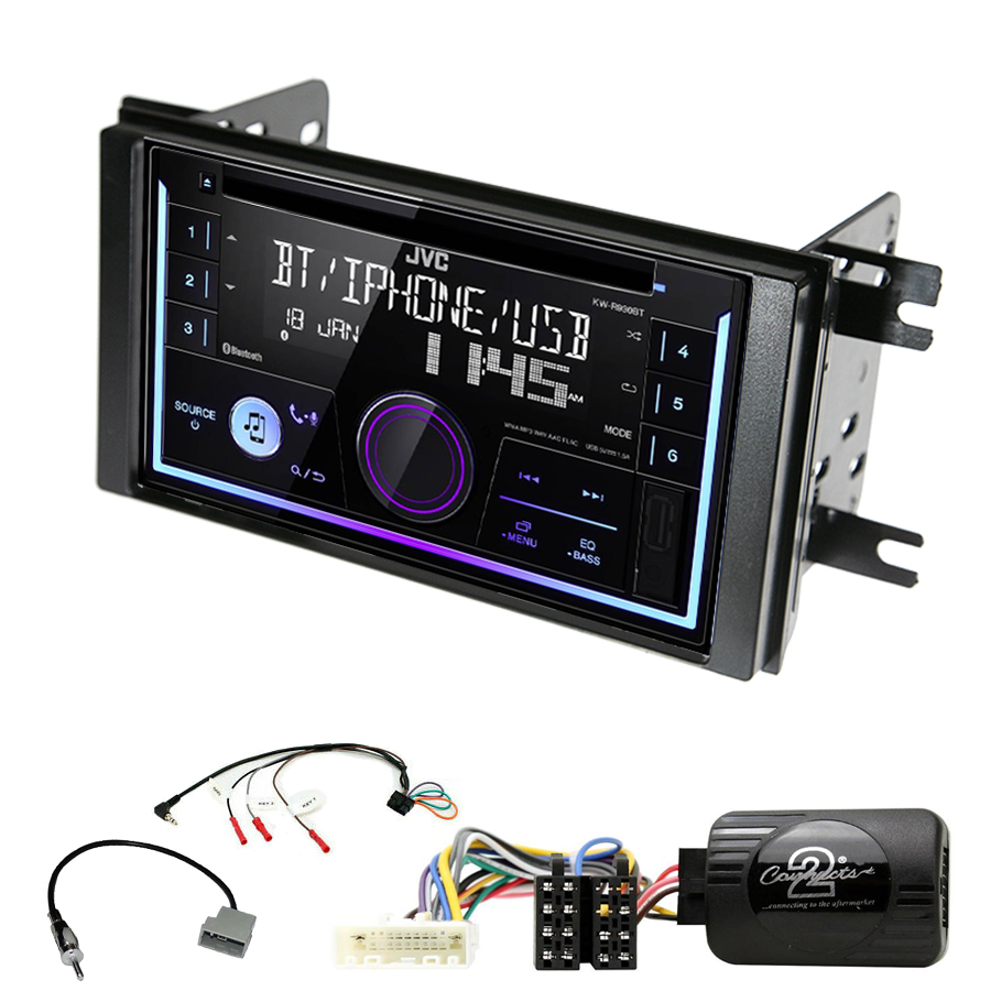 Kit d\'intégration Subaru Impreza de 2007 à 2012 + Autoradio multimédia USB/Bluetooth