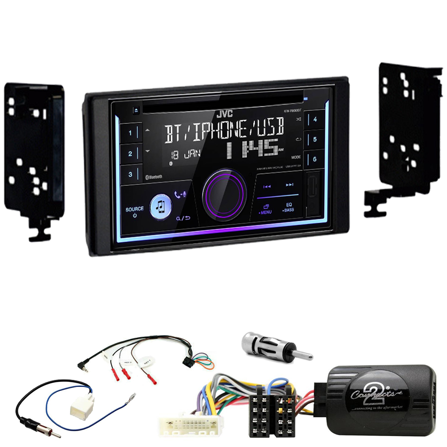 Kit d\'intégration Subaru Impreza, Forester et XV + Autoradio multimédia USB/Bluetooth