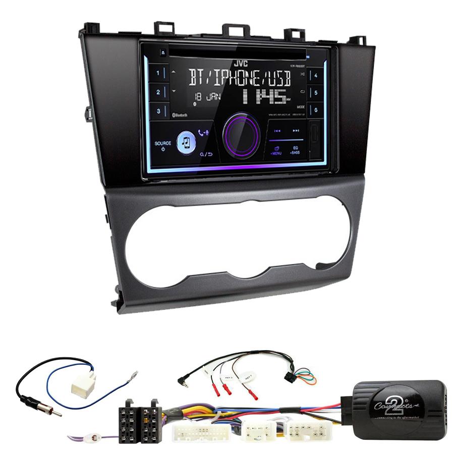 Kit d\'intégration Subaru Forester de 2016 à 2018 + Autoradio multimédia USB/Bluetooth