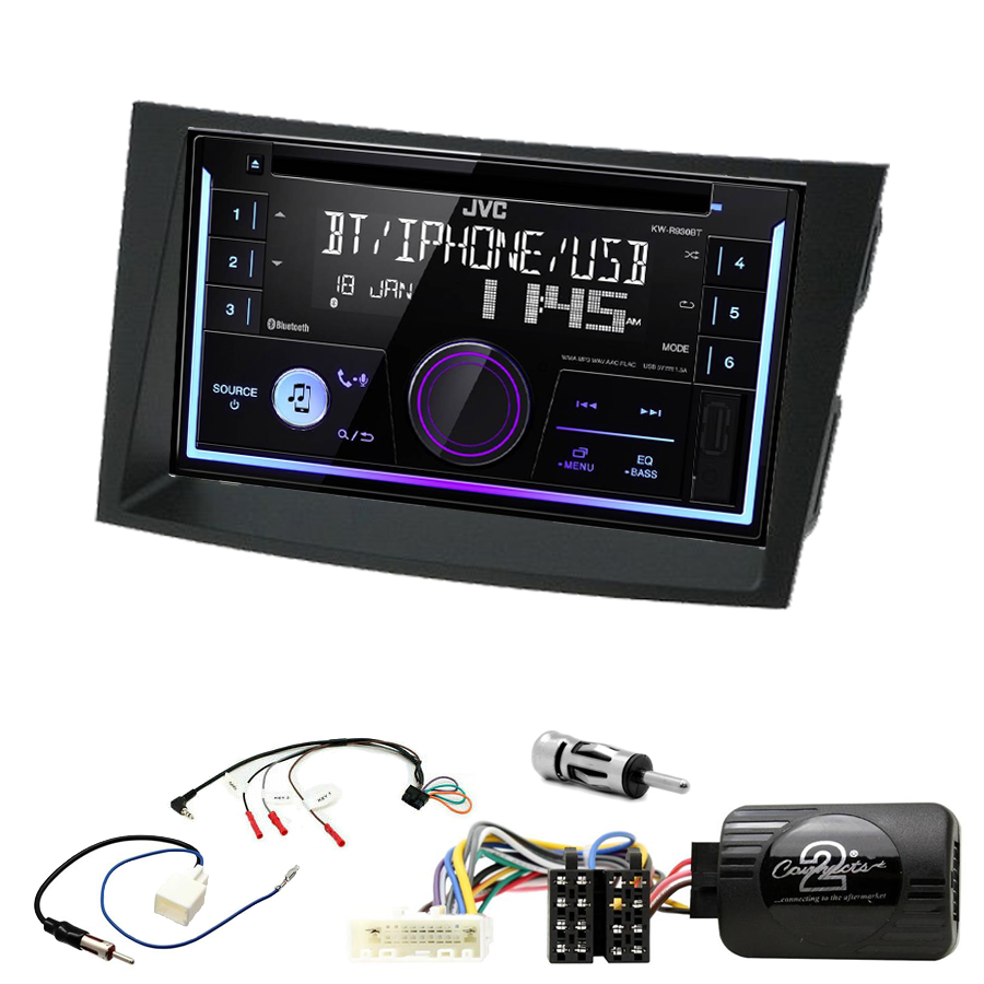 Kit d\'intégration Subaru Outback et Legacy de 2009 à 2014 + Autoradio multimédia USB/Bluetooth