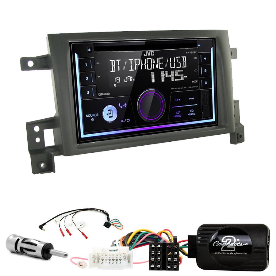 Kit d\'intégration Suzuki Grand Vitara de 09/2005 à 2011 + Autoradio multimédia USB/Bluetooth