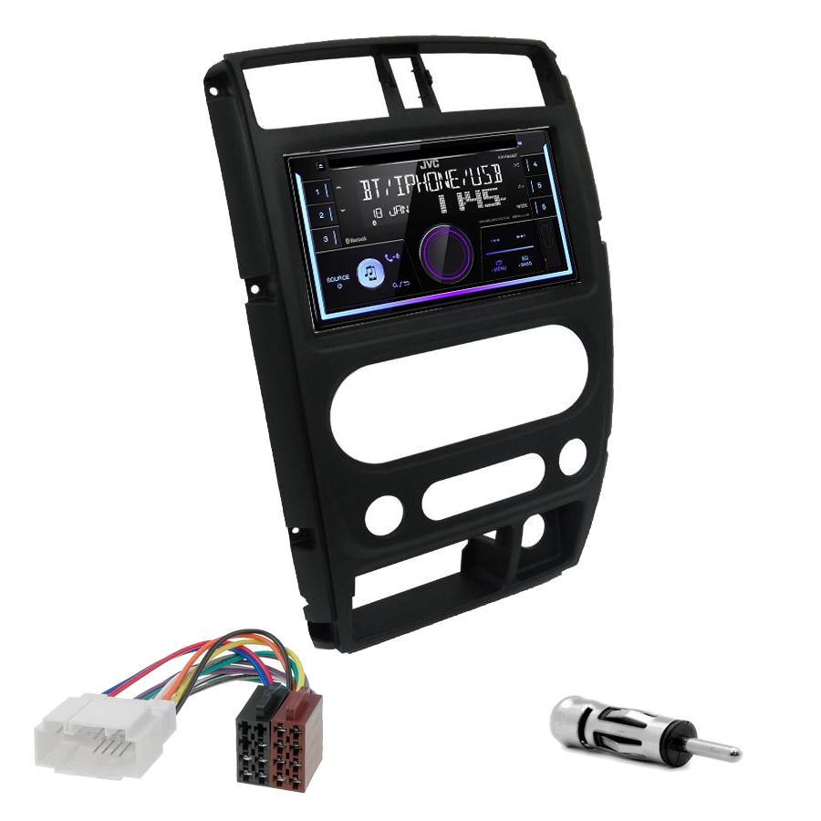 Kit d\'intégration Suzuki Jimny de 2008 à 2019 + Autoradio multimédia USB/Bluetooth