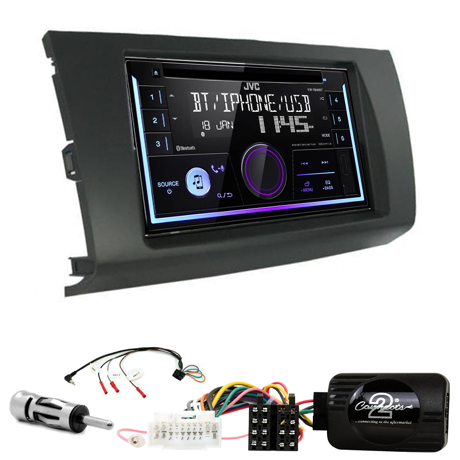 Kit d\'intégration Suzuki Swift de 02/2005 à 08/2010 + Autoradio multimédia USB/Bluetooth