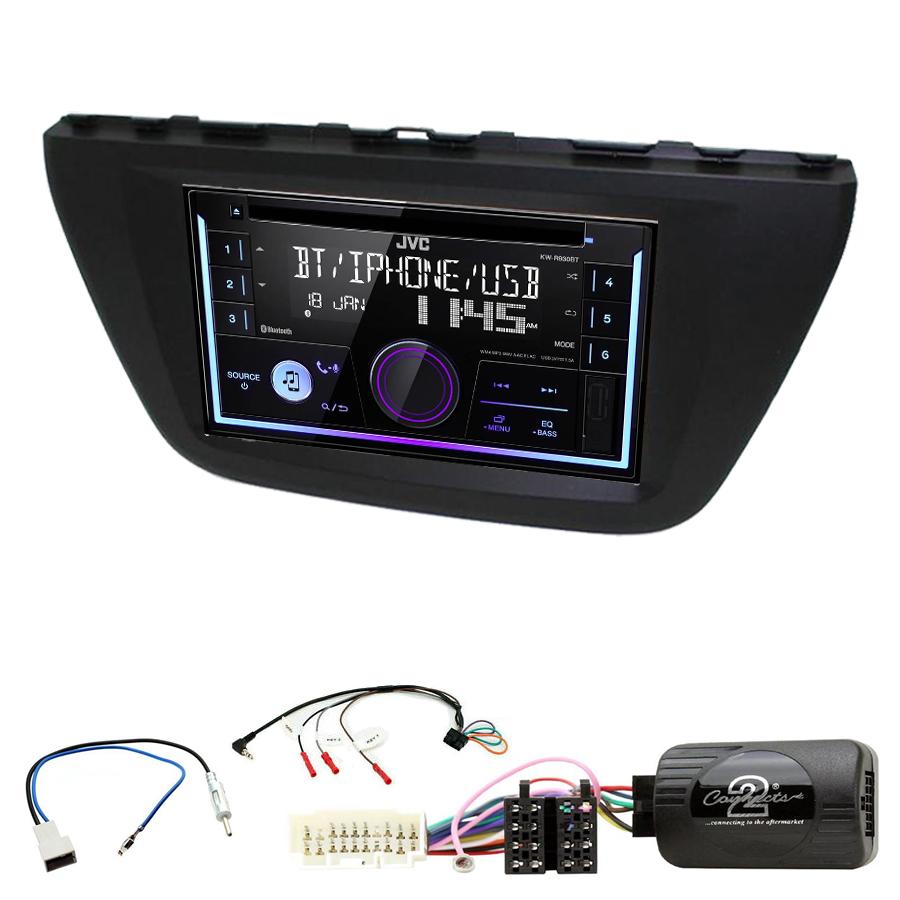 Kit d\'intégration Suzuki SX4 S-Cross depuis 2013 + Autoradio multimédia USB/Bluetooth
