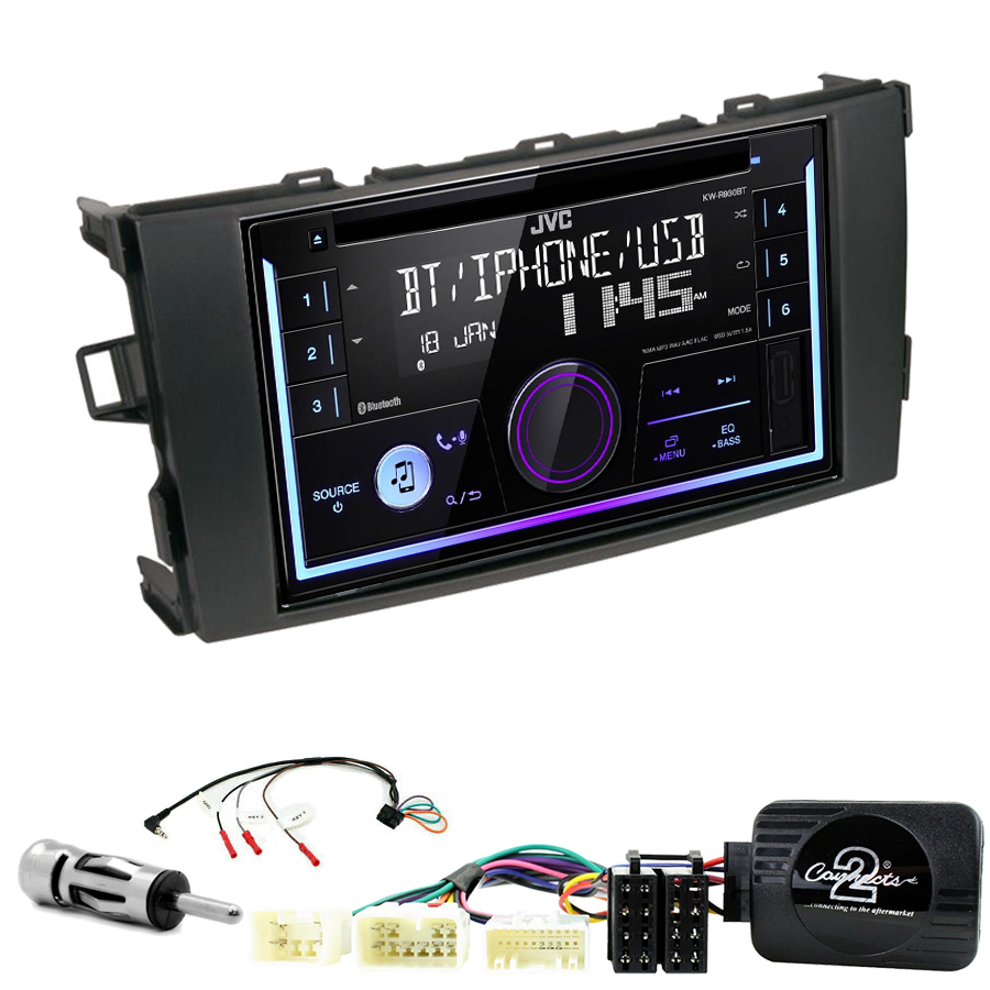 Kit d\'intégration Toyota Auris de 2007 à 2012 + Autoradio multimédia USB/Bluetooth