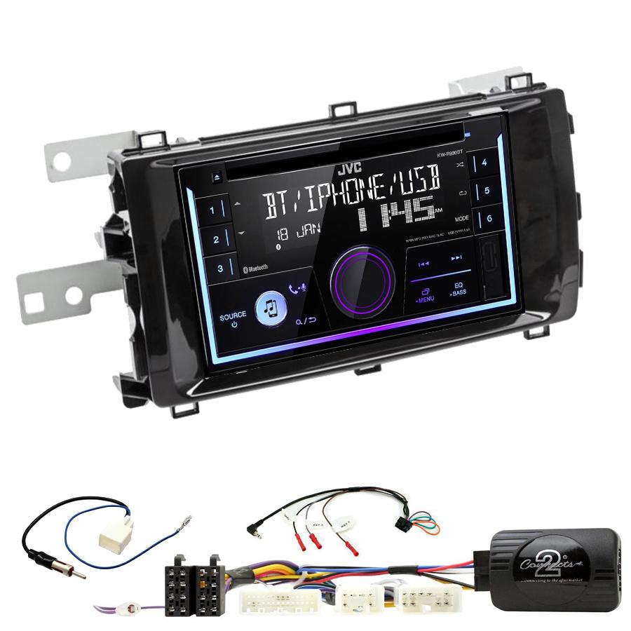 Kit d\'intégration Toyota Auris de 2013 à 2015 + Autoradio multimédia USB/Bluetooth