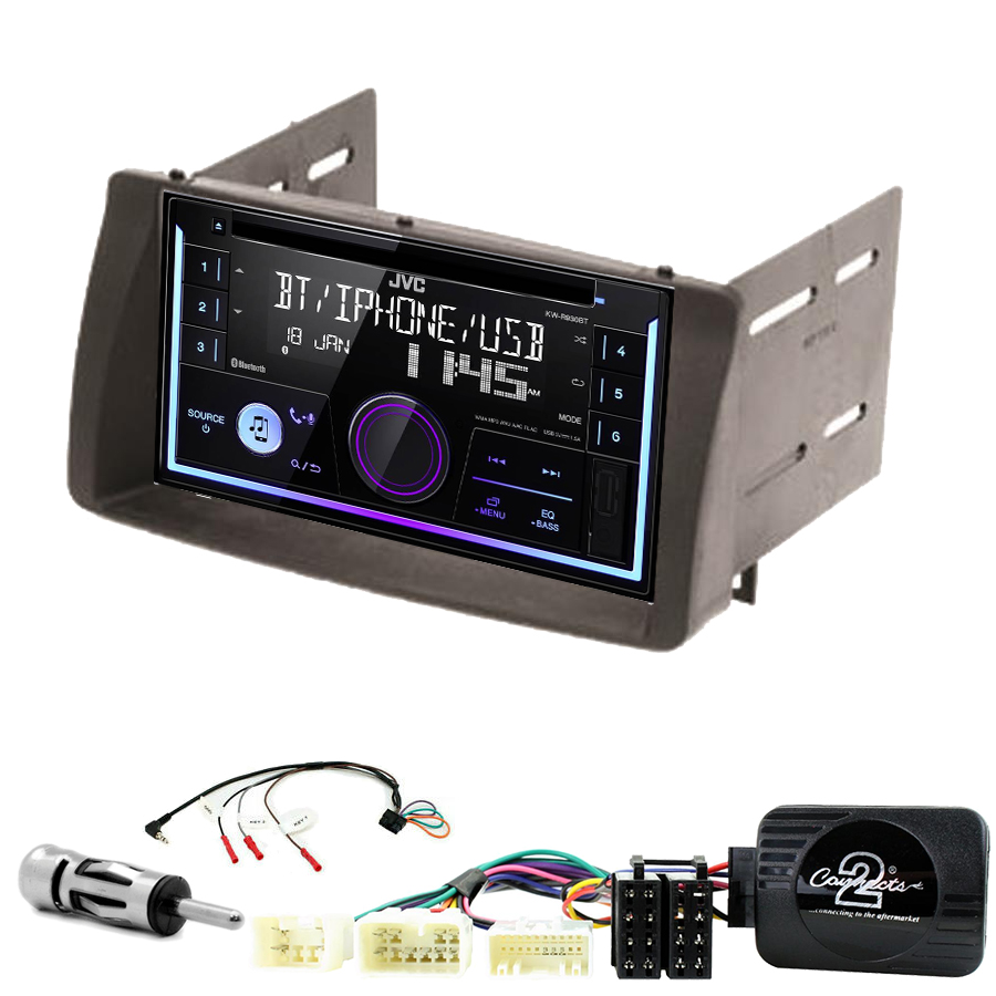 Kit d\'intégration Toyota Corolla de 2002 à 2006 + Autoradio multimédia USB/Bluetooth