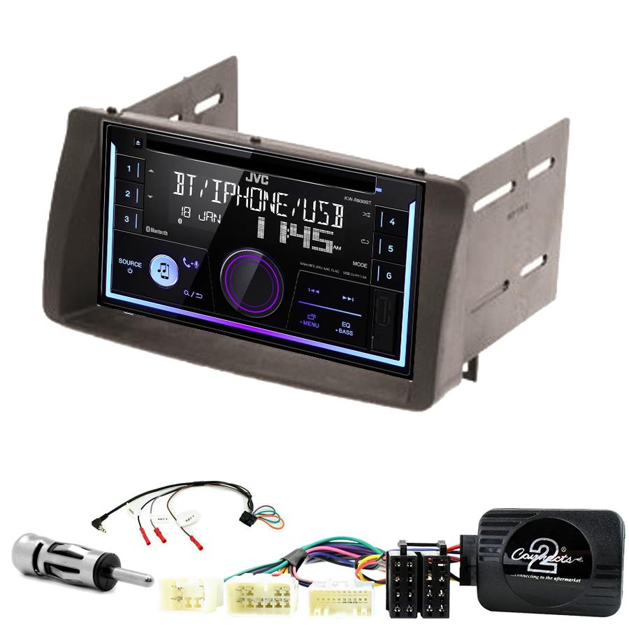 Kit d\'intégration Toyota Corolla de 2002 à 2006 + Autoradio multimédia USB/Bluetooth