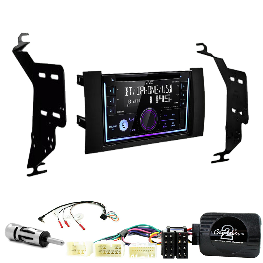 Kit d\'intégration Toyota Prius de 2004 à 2009 + Autoradio multimédia USB/Bluetooth