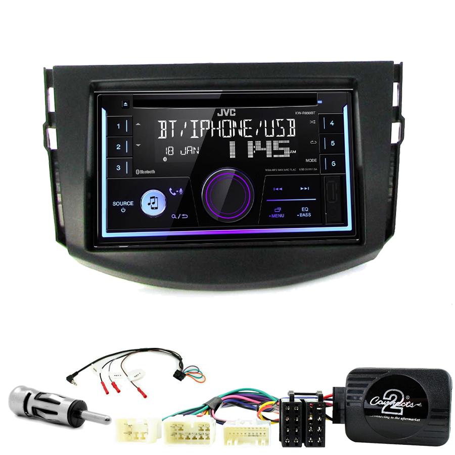 Kit d\'intégration Toyota RAV4 de 03/2006 à 03/2013 + Autoradio multimédia USB/Bluetooth