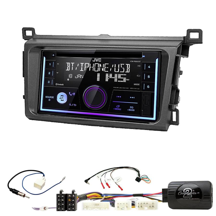 Kit d\'intégration Toyota RAV4 de 2013 à 2018 + Autoradio multimédia USB/Bluetooth