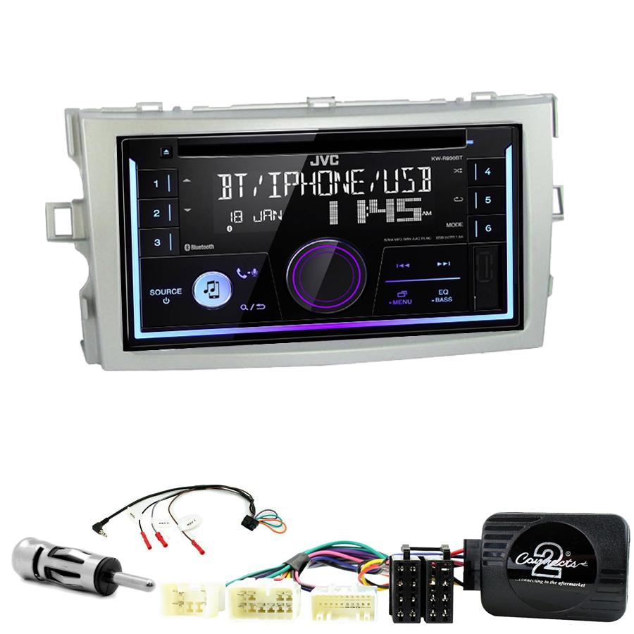 Kit d\'intégration Toyota Verso de 2009 à 2017 + Autoradio multimédia USB/Bluetooth