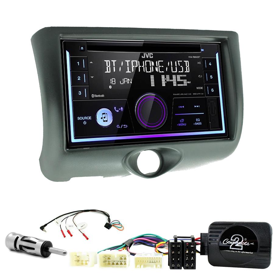 Kit d\'intégration Toyota Yaris de 04/1999 à 12/2005 + Autoradio multimédia USB/Bluetooth