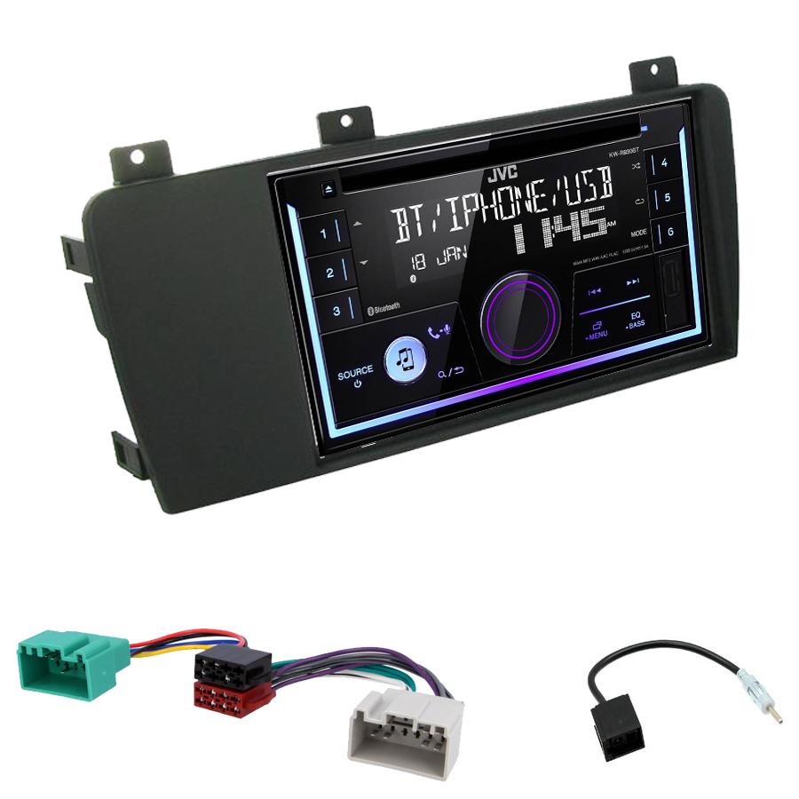 Kit d\'intégration Volvo S60, V70 et Volvo XC70 + Autoradio multimédia USB/Bluetooth