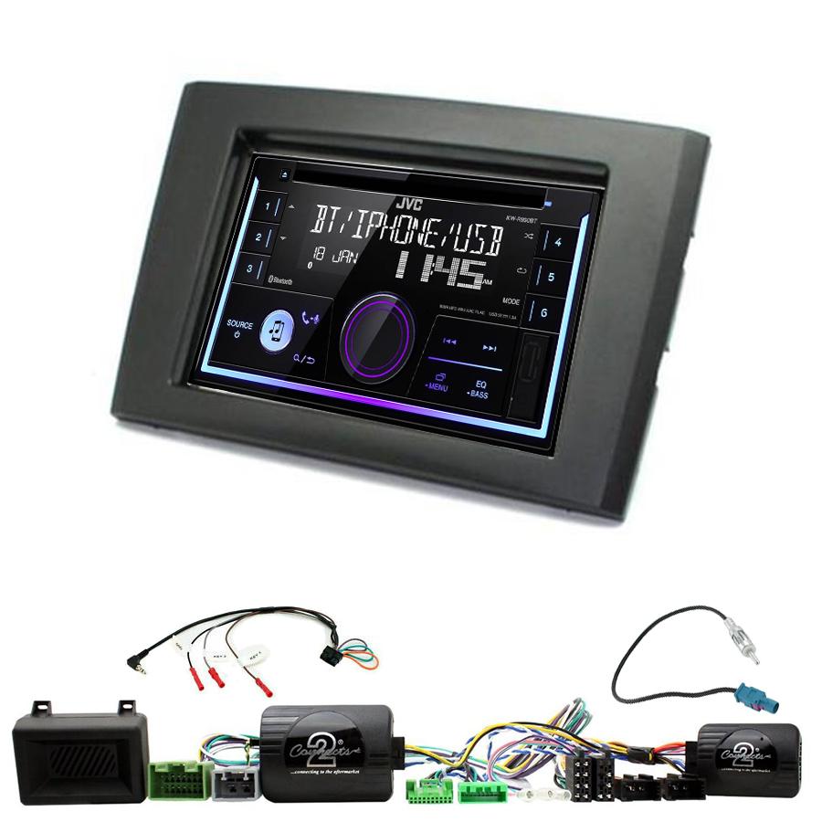 Kit d\'intégration Volvo XC90 de 2006 à 2014 + Autoradio multimédia USB/Bluetooth