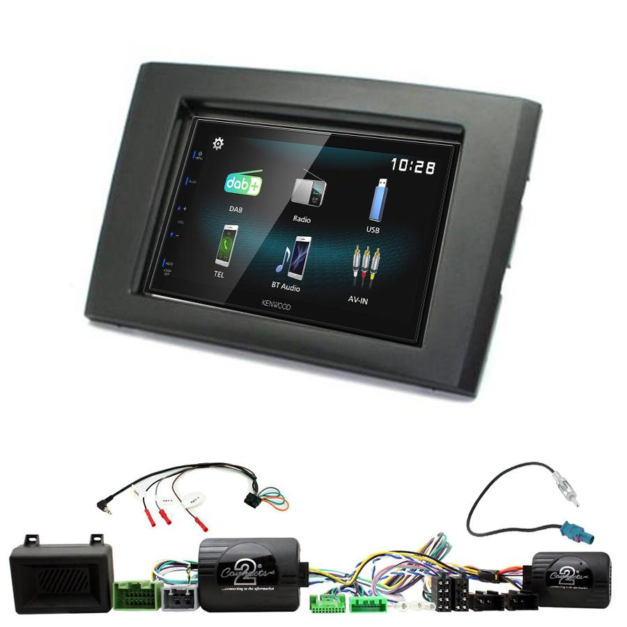 Kit d\'intégration Volvo XC90 de 2006 à 2014 + Autoradio multimédia à écran tactile