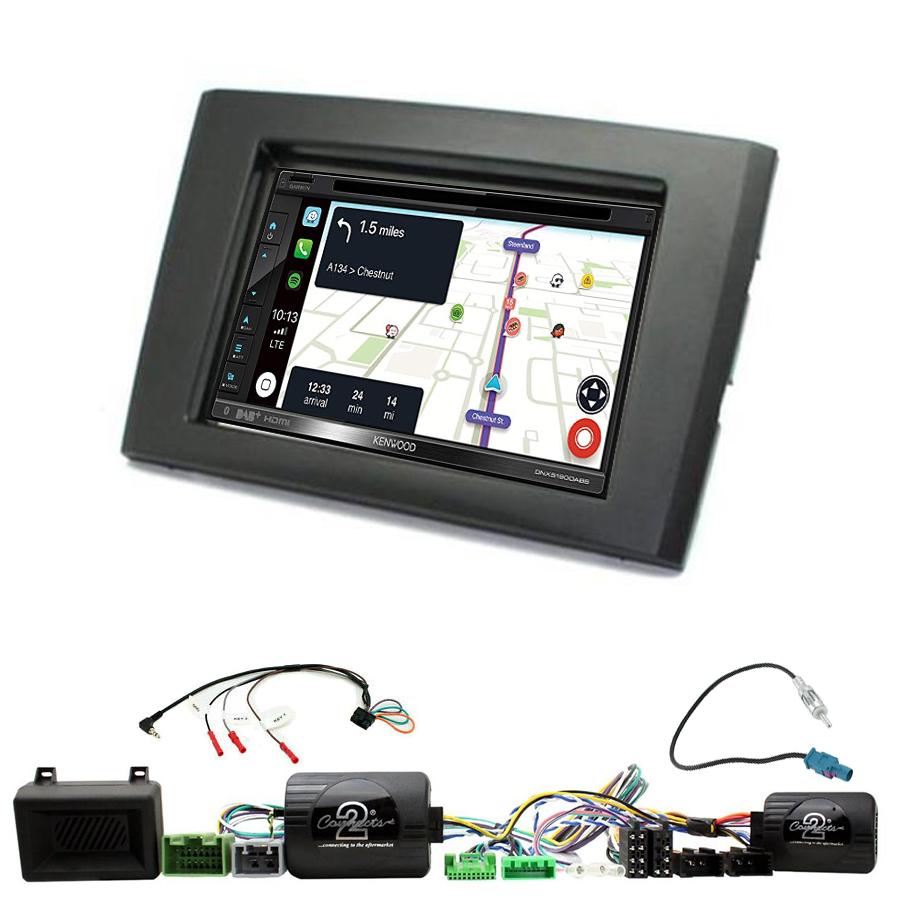 Kit d\'intégration Volvo XC90 de 2006 à 2014 + Autoradio tactile Navigation GPS