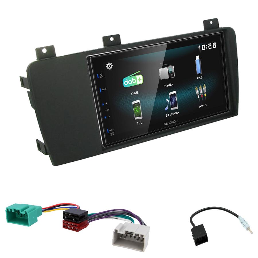 Kit d\'intégration Volvo S60, V70 et Volvo XC70 + Autoradio multimédia à écran tactile