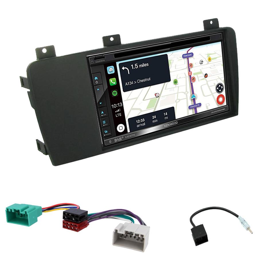 Kit d\'intégration Volvo S60, V70 et Volvo XC70 + Autoradio tactile Navigation GPS
