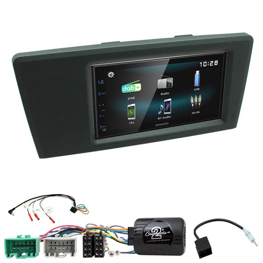 Kit d\'intégration Volvo S60 et Volvo V70 de 2000 à 2004 + Autoradio multimédia à écran tactile