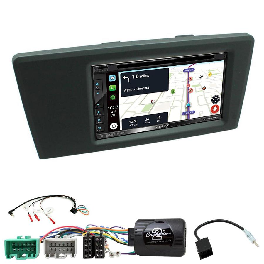Kit d\'intégration Volvo S60 et Volvo V70 de 2000 à 2004 + Autoradio tactile Navigation GPS